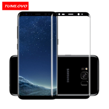 3D Curved Full Cover Tempered Glass For Samsung Galaxy S7 Edge Screen Protector Protective Film For Samsung Galaxy S8 S8 Plus(China)
