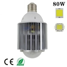 DHL free shipping led lamp 80W COB E40 led high bay e40 led warehouse light industrial light AC85-265V