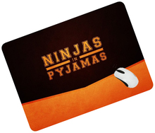 ninjas in pyjamas mouse pad Christmas gifts large pad to mouse computer mousepad Colourful gaming padmouse laptop gamer play mat