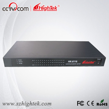 HighTek HK-8116A Industrial 16 ports RS232 to Ethernet Converter/Ethernet to Serial Device Server