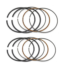 Yecnecty 2 Pack Motorcycle Engine Part Motorbike Piston Rings STD Bore Size 57.5MM For Kawasaki ZZR 400 1992-2003 ZRX 400(China)