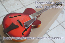 New Arrival China Jazz Electric Guitars Hollow Maple Body Guitar Free Shipping