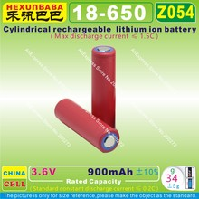 10pcs [Z054] 3.6V,900mAh,[18650] Rechargeable lithium ion battery for speaker;smart watch;power bank,mp4,mp3,TOY CAR,GPS,DVR