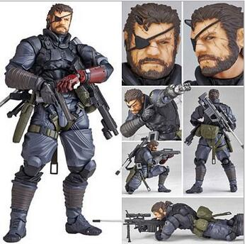 NEW hot 15cm Metal Gear Punished Venom Snake movable 2.0 collectors action figure toys Christmas gift doll<br>