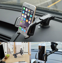 For Huawei P9 P8 Lite G9 Mate 8 9 Honor 8 Universal 4- 6 inch Retractable Windshield Dashboard Car Phone Stand Holder GPS Mount