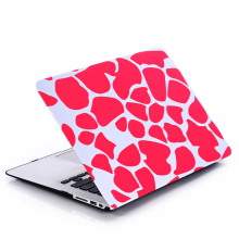 Ultra Thin Light Weight Purple Stone Pattern Laptop Hard Case Shell Cover for Apple Macbook Air 13 13.3 inch