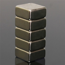 New 10pcs 10 x 10 x 5mm Square Block N52 Magnet Rare Earth Magnet DIY Permanent Magnet Powerful Hard to apart away