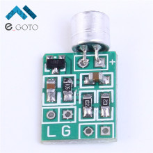 Mini Microphone Audio Amplifier Module Speaker Circuit Board DC 2.5-9V 14x12mm Mic Accessories