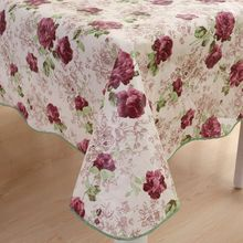 Waterproof Oilproof Wipe Clean PVC Vinyl Tablecloth Table Cloth Rectangular Table Cover Tablecloth for Wedding