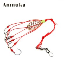 Anmuka 4pcs Explosion Fishook Fishing Hooks Pack Fishing Tackle Fish Hooks Super Deal High Carbon Steel Sharp Fishhooks