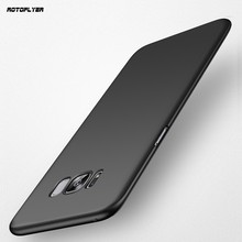 Ultra Thin PC Back Cover Case for Samsung Galaxy S8 Plus Matte Fundas Full Protection Injection Portable Coque for Galaxy S8+(China)