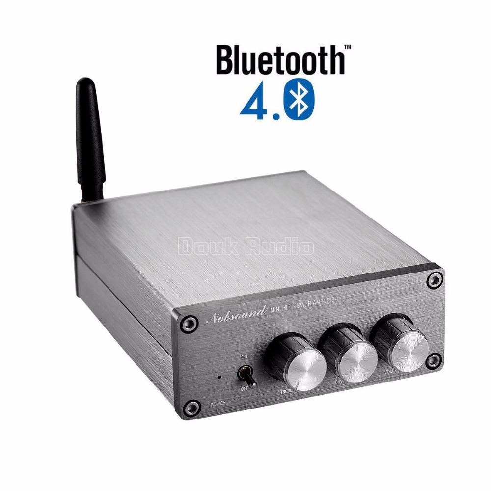 Nobsound Latest Mini Amp TPA3116 HiFi Bluetooth 4.0 Digital Power Amplifier Audio Receiver 50W*2