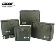 CADeN Camera Portable Insert Bags Digital Video Photo Waterproof Durable Nylon Storage Case Bag for DSLR Nikon Canon Sony A1-A4(China)
