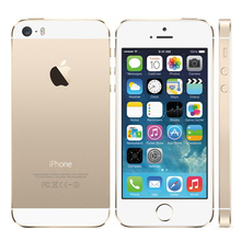 "Original iPhone 5s Unlocked Apple iPhone 5S Smartphone 4.0"" 640x1136px A7 Dual Core 16GB 32GB ROM IOS 9 3G WIFI 8MP 1560mAh Used"