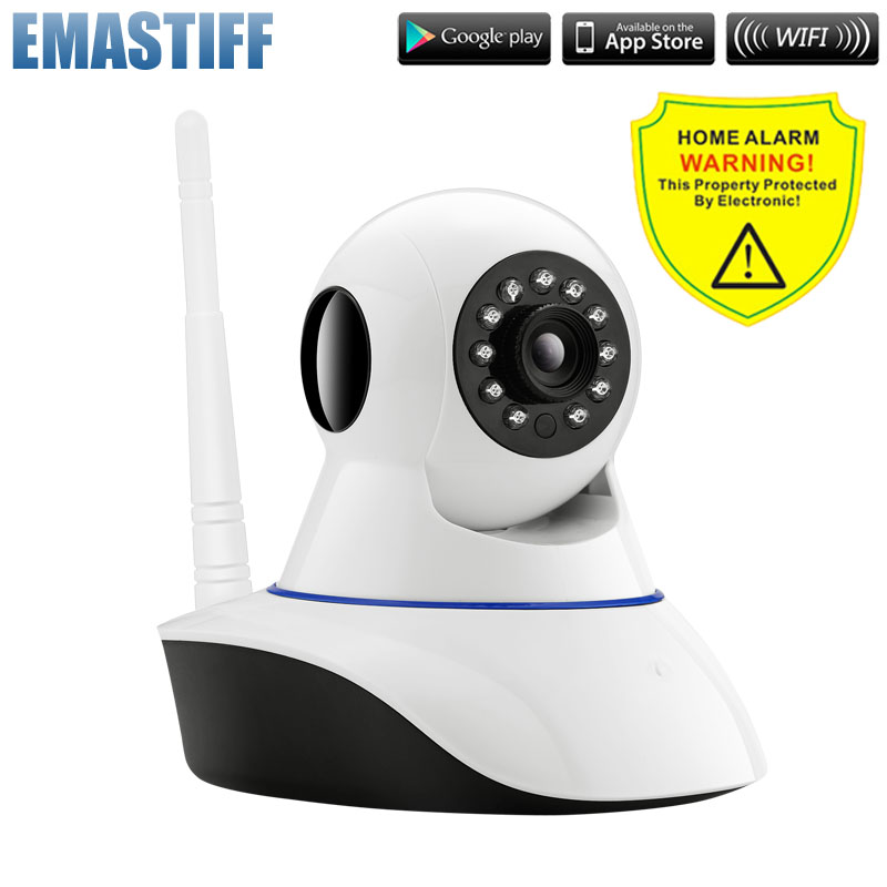 720P Security Network CCTV wifi camera Wireless Megapixel HD Digital Security ip camera IR Infrared Night Vision local alarm<br>