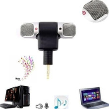 Mini Stereo Microphone Mic Audio For Iphone Laptop Andriod Phone Jack PC Notebook Talk 3.5mm Sound Recorder Desktop Accessories