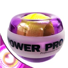 New Powerball Wrist Exerciser Power Ball High Quality Gyroscrope Forceball Gyro Power Ball Hand Spinner With LED Speed Meter