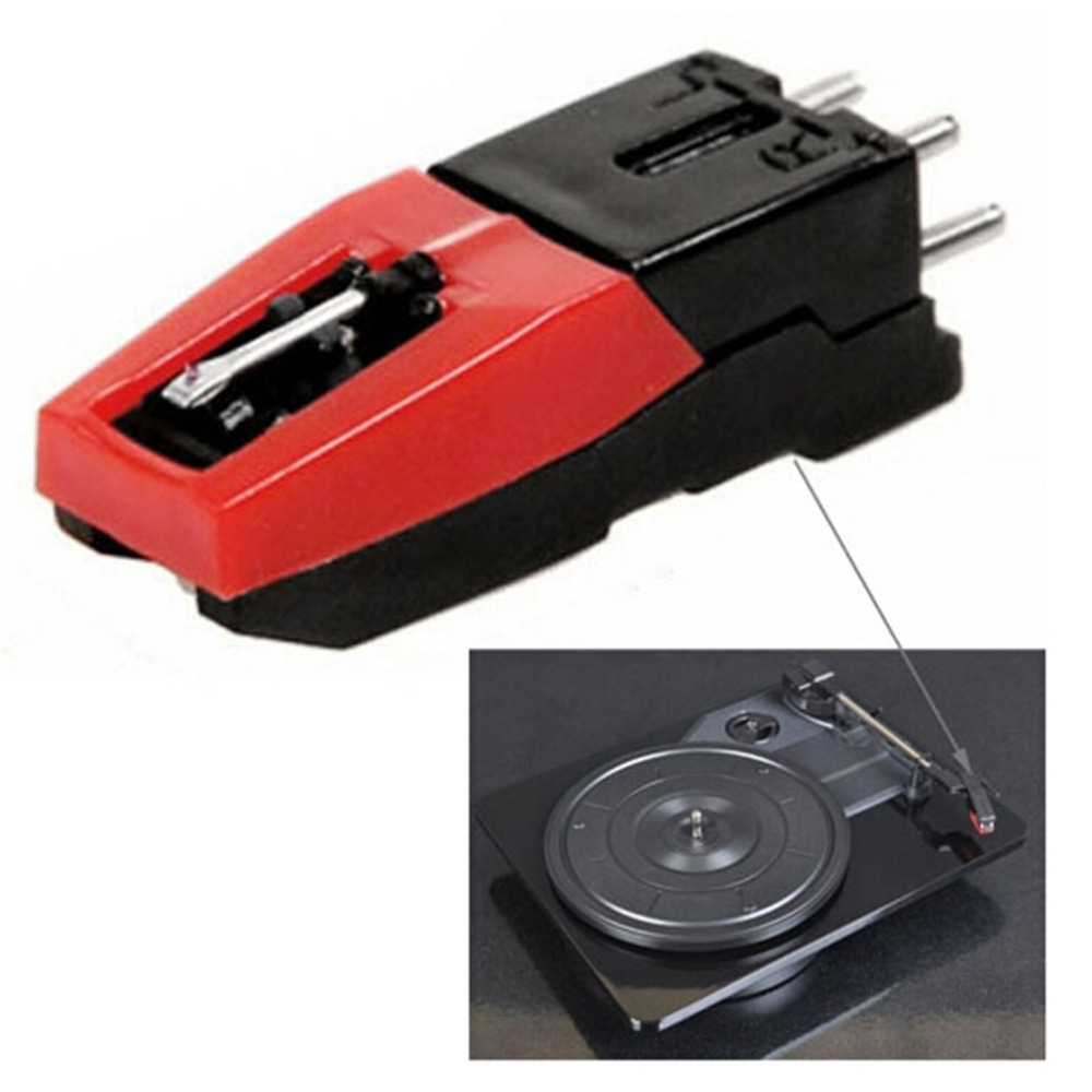 2016 Newest Turntable Phono Cartridge w/ Stylus Replacement Black &amp; red for Vinyl Record Player Economic and Durable<br><br>Aliexpress