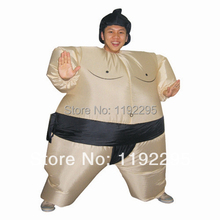 Sumo Inflatable Costume Adult Fancy Dress Suit Party Halloween Christmas halloween costume for men