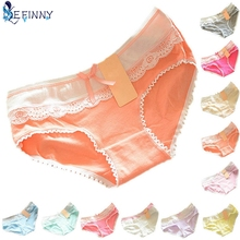 Buy EFINNY Lovely Briefs Women's Multi-Color Cotton Soft Lace Bow-knot Underwear Briefs Knickers Best