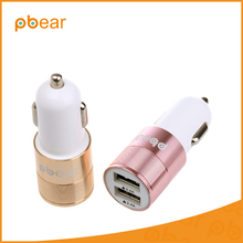 Universal Smart Real-time monitoring voltage Car Charger Dual USB 5V/4.8A Volt Quick Charger For iphone 5s 6 7 Samsung Tablet