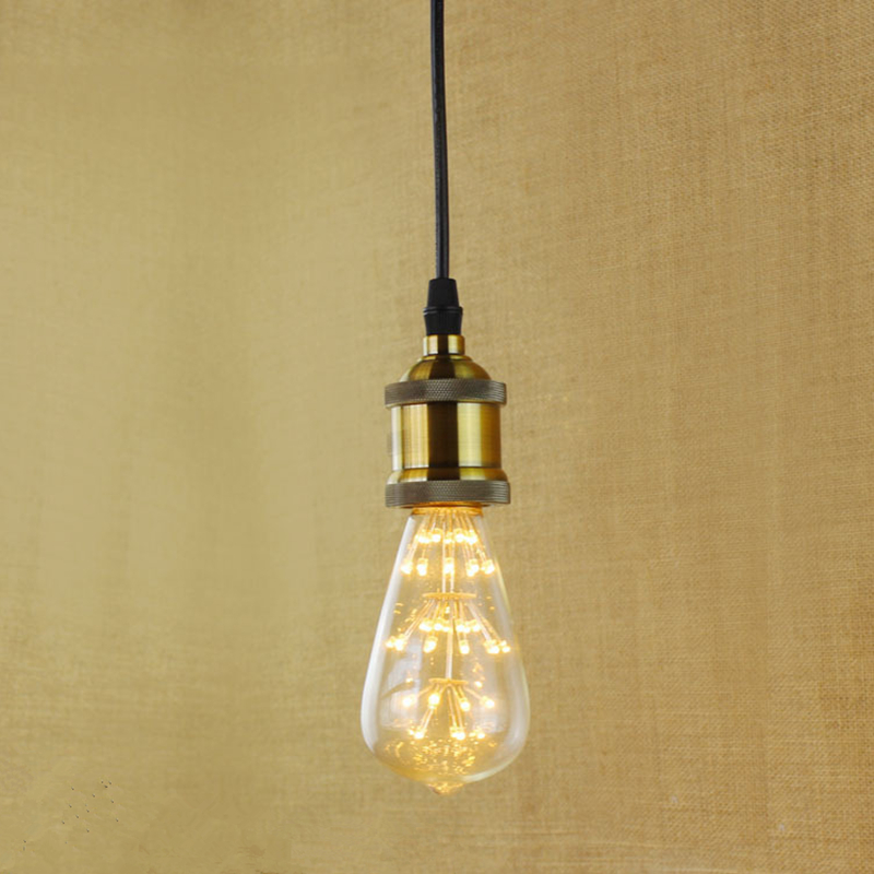 E27 Vintage Filament Pendant Light For Bar Cafe Balcony Gallery Home Decoration Eddison Bulb Kits<br><br>Aliexpress