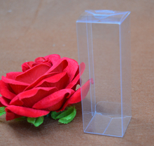 High Quality 2.5*2.5*7.5cm simple Clear Plastic Box packing boxes,clear plastic gift box(China)