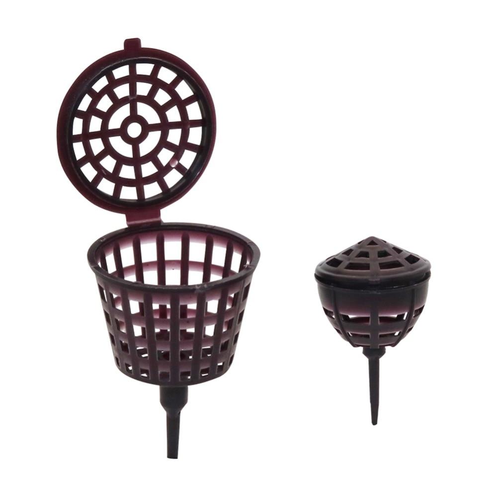 NEW 10 Pcs Big Size Orchid Fertilizer Bonsai Baskets Garden Flower Tool made FO