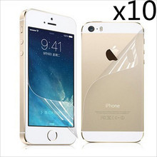10pcs/lot High quality LCD Clear Front Screen Protector Guard For iPhone 5 5S 5C 5th with Film Cleaning Cloth, cheapest price