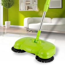 Hand Push Sweeper 360 Rotary Home Use Magic Manual Telescopic Floor Dust Sweeper Mop Broom With Adjustable Handle