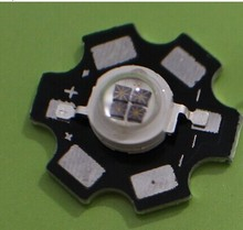 Freeshipping! 5W Infrared IR 850NM Four chips High Power LED Bead Emitter DC1.4-1.7V 1400mA with 20mm Star Platine Base