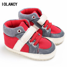 High Tops Baby Infant Winter Warm Shoes Soft-soled Hook & Loop Mixed Color Toddler First Walkers for Babies Girls Boys BS051(China)