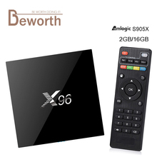 Buy X96 Amlogic S905X Quad Core Android 6.0 TV Box Support WiFi 2.4G 4K RAM 1GB/2GB ROM 8GB/16GB Set Top Box WIFI HDMI 2.0 IPTV Box for $309.90 in AliExpress store