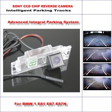 860 Pixels Car Rear Back Up Camera For BMW 1 E81 E87 E87N / M1 F20 F21 Rearview Parking 580 TV Lines Dynamic Guidance Tragectory