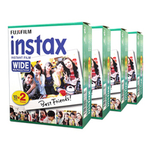 Fujifilm Instax Wide Instant White Edge 80 Film For Fuji Instax Camera 100 200 210 300 500AF