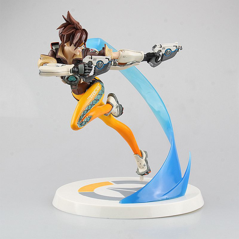 1pcs 23cm POP Over watch Action Tracer Figure Toy Doll<br><br>Aliexpress