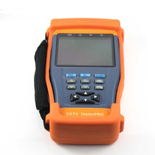 CJ-TV893AHD 3.5 inch CCTV camera Tester with PTZ,UTP/Video Audio Test DC 12V output