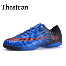 Thestron Kids Soccer Boots Shoes Anti-Slippery Mens Trainers Sports Shock Absorption Girls Football Training - Aikey Store store