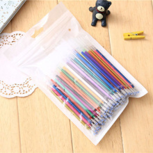 Buy 100 pcs/lot DIY Cute Kawaii 100 Colors Gel Pen Refills Kids Writing Gift School Supplies Student for $8.32 in AliExpress store