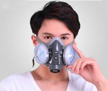 Dusk protective Mask Anti-Dust Respirator Filter cutton Mask haze PM2.5 breather valve Painting Spraying industrial dust masks(China)