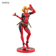 Crazy Toys X-men Lady Deadpool Bishoujo Statue Doll PVC Action Figure Collectible  Model Toy 23.5cm KT2650