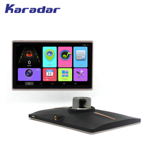 KARADAR New IPS screen 1024*600 picels 7 inch Android Car GPS navigation with blutooth fm AV-IN wifi 16G flash RAM MTK8217(China)