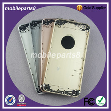 Free shipping Back Cover Door Rear Panel Plate full Housing Replacement For iPhone 6S plus 5.5 inch Black/White/gold/rose gold