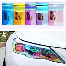 Waterproof 30CMX120CM Auto Car Light Headlight Tail light Tint Styling Protective PVC Film Sticker Car Accessories Car-Styling