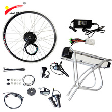 "Electric Bicycle Kit Rim 20"" 26"" 700C(28"") with Battery Motorized Bicycle Kit E-Bicycle Brushless Motor Kit E-Bike Engine Kit"