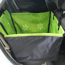 Sunflower Pet Dog Cat Waterproof Car Seat Cover Mat Blanket Cradle Bed Rear Back Pets Hammock Cushion Protector U0869