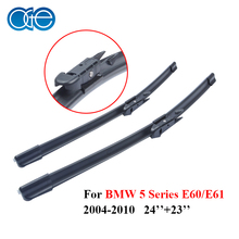 Oge 24''+23'' Wiper Blades For BMW 5 Series E60 E61 2004 2005 2006 2007 2008 2009 2010 High-Quality Rubber Car Accessories