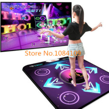 HOT 2016 New PC English menu single dance pad Non-Slip Dancing Step Dance Game Mat Pad for PC & TV FREE SHIPPING