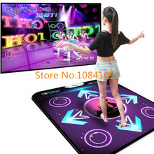 HOT 2016 New PC English menu single dance pad Non-Slip Dancing Step Dance Game Mat Pad for PC & TV FREE SHIPPING(China)