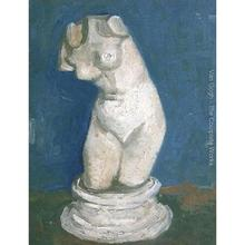 High quality Vincent Van Gogh paintings for sale Plaster Statuette Of A Female Torso VI Canvas art hand-painted